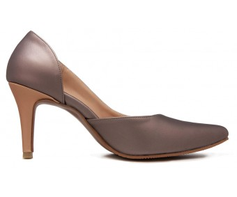 Eva Copper Metallic PU Shoes