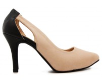 Josephine Khaki Suede Casual Shoes