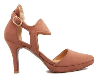 Luna Light Brown Suede Sandals