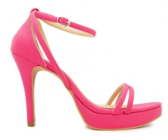 Mya Fuchsia PU Sandals