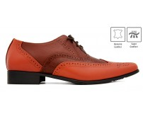 Marco Crocodile Leather Custom Made Men's Shoes.