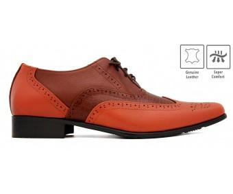Marco Crocodile Leather Custom Made Men's Shoes.