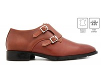 Lorenzo Chocolate Leather Custom Made Men's Shoes