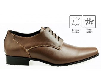 Jackson Camel Leather Custom Made Men's Shoes