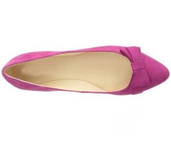 Angelia Purple Suede Casual Flats