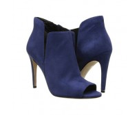 Sammy Midnight Blue Suede Ankle Boots