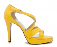 Sharon Yellow Colour Casual Sandals