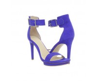 Judy Violet Suede Casual Sandals