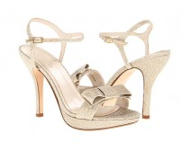 Miriam Gold Glitter Casual Sandals
