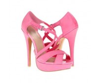 Sharon Pink Colour Casual Sandals