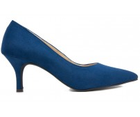 (-30% OFF*) Ruby Navy Blue Suede Working Shoes (Ready Stock)