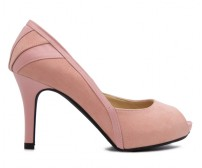 (-30% OFF) Courtney Pink Suede Dinner Shoes (Ready Stock)