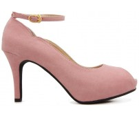 Cirila Pink Suede Casual Shoes