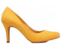 Tamara Yellow Suede Casual Shoes