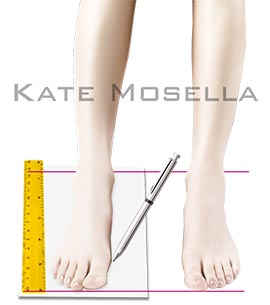 How to Measure Your Foot ?