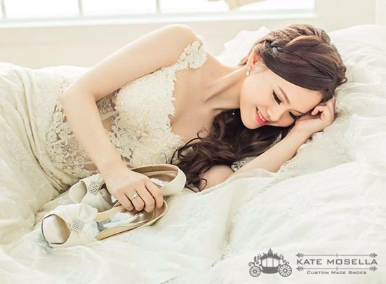 Kate Mosella Wedding Shoes